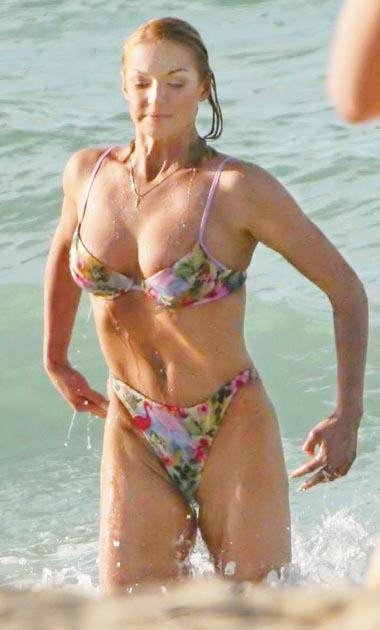Анастасия Волочкова после операции по увеличению груди