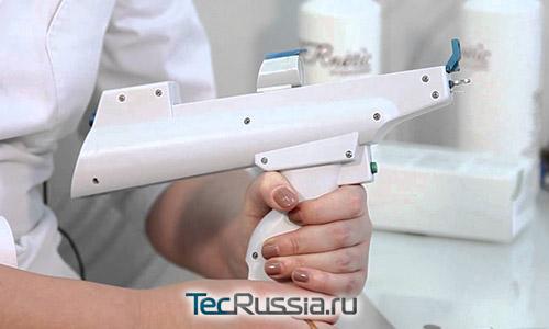 пистолет для проведения мезотерапевтических инъекций
