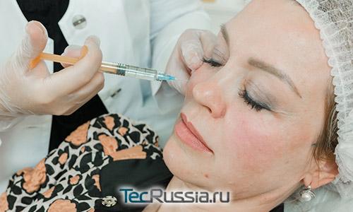 Инъекции Ивор на косметологическом мастер-классе