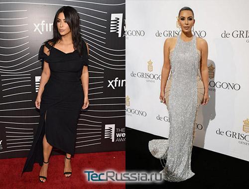 Ким Кардашьян после пластики в Нью-Йорке и в Каннах