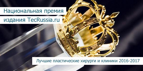 Ежегодная премия издания TecRussia.ru