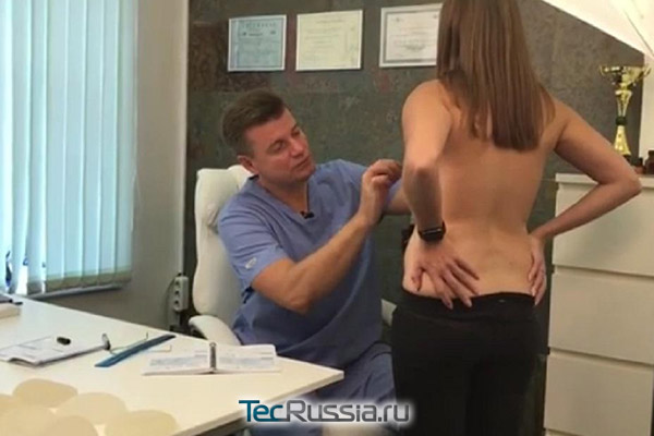Еременко на консультации у пластического хирурга Бакова