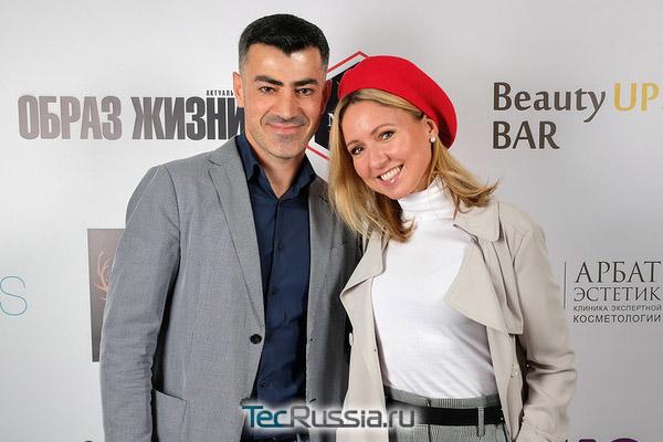Пластический хирург Владислав Григорянц и Дарья Субботина