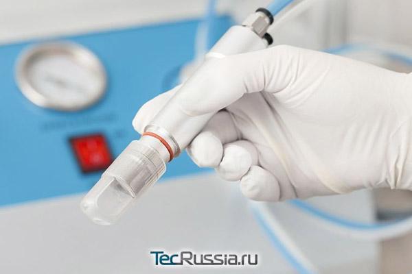 аппарат для шлифовки рубцов