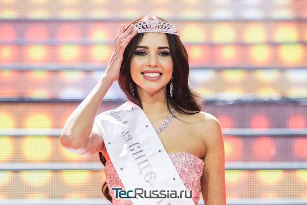 Волконская-Решетова в финале конкурса «Мисс Россия - 2014»
