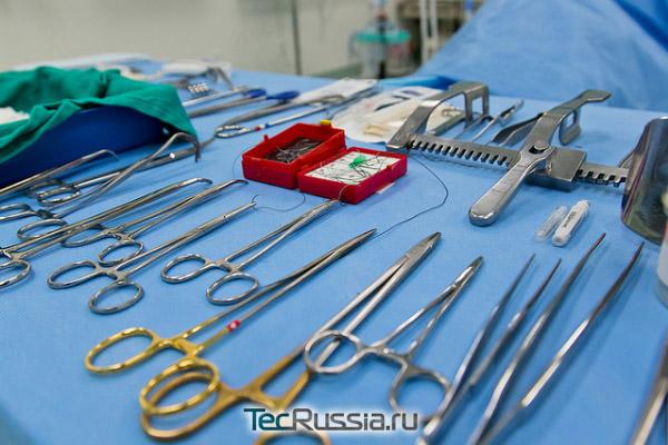 инструменты для пластической операции